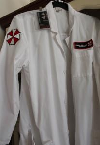 Resident Evil scientist costume