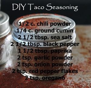 DIY Taco recipe
