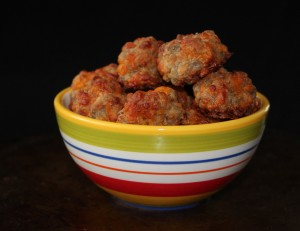 Great tasting moist sausage balls.